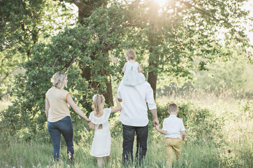Life/work balance: time with family in nature
