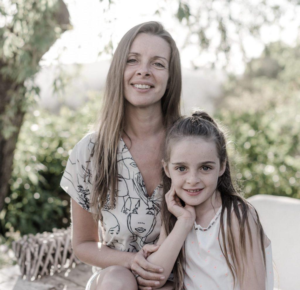 Jade Gooding and daughter Reframing Blog