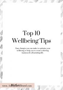 Top 10 Wellbeing Tips Cover